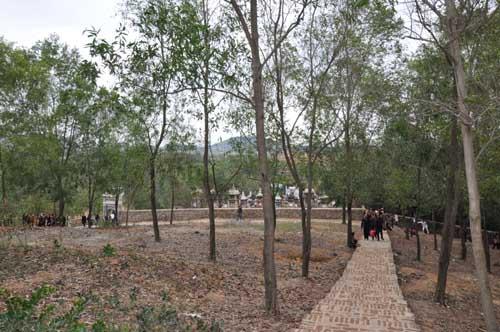Không gian chùa Bổ Đà