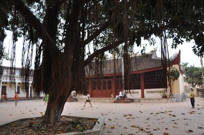 Đình làng Chiền xã Nội Hoàng( Yên Dũng)