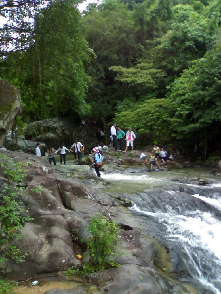 Phong cảnh suối Mỡ xã Nghĩa Phương, huyện Lục Nam, Bắc Giang