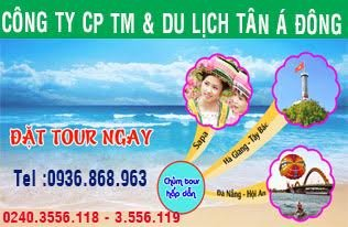 Cty CPTM Du lịch Tân Á Đông
